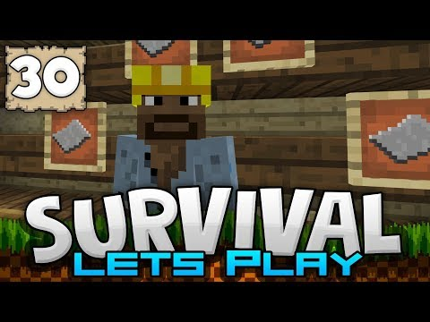 WELCOME TO THE POST OFFICE!! - Survival Let's Play Ep. 30 - Minecraft 1.2 (PE W10 XB1)