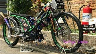 WOW, Yamaha MIO 500cc NOS TURBO Thailand Drag Bike