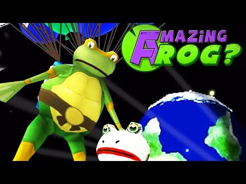 HOW HIGH CAN THE TMNT FROG FLY WITH THE BALLOON JETPACK?! - Amazing Frog - Part 145 | Pungence
