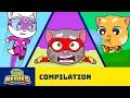 Talking Tom Heroes The Adventure Begins Cartoon Compilation