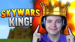THE KING OF SKYWARS!!   Minecraft TEAM SKYWARS #28