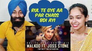 Indian Reaction on Rul Te Gaey Aan Remix With Joss Stone And Malkoo ft. PunjabiReel TV