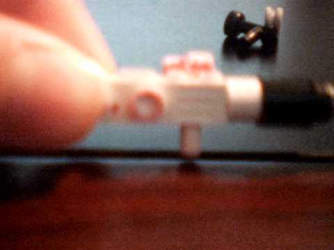 how to make a lego mini gun
