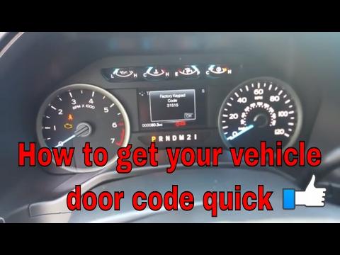 How to retrieve your door factory key code