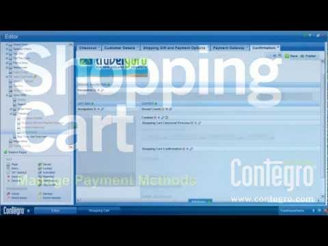 E-Commerce: Manage Shopping Cart Payment Methods