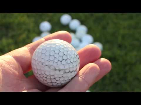 The Best Way to Clean Recovered Golf Balls