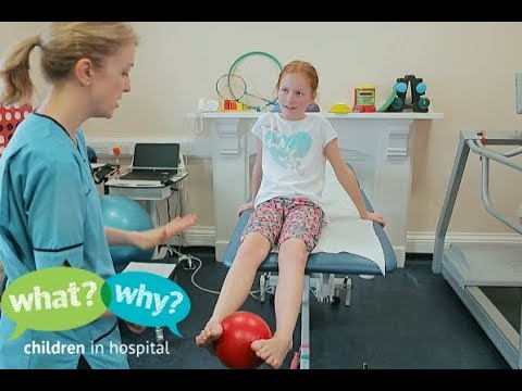 What happens during JIA physiotherapy assessment and exercises?