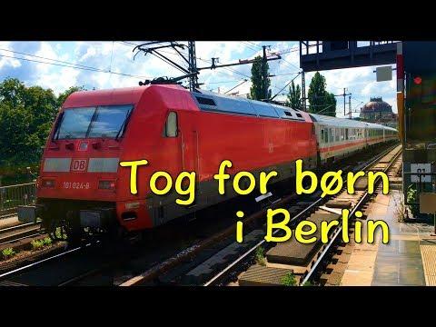 S-tog, sporvogne, metro og andre tog i Berlin