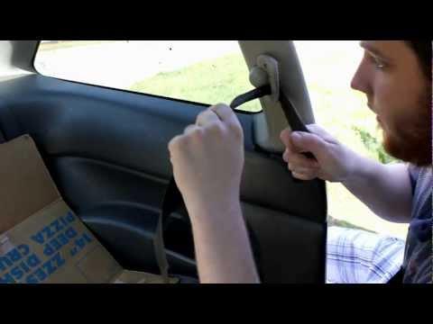 How to: Fix Slow Retracting or Stuck Seat Belt