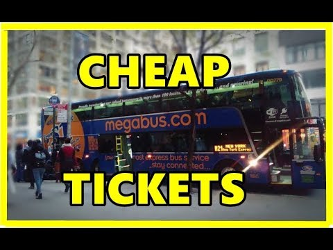 How to Book Cheap Megabus Tickets