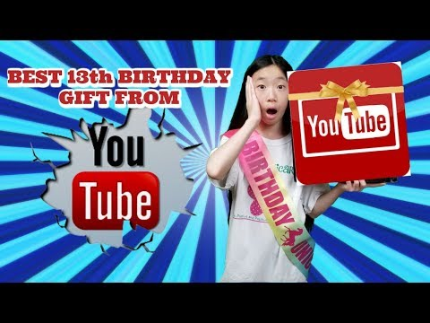 YOUTUBE SENT ME THE BEST BIRTHDAY GIFT EVER!!HAPPY 13TH BIRTHDAY GIFT FROM YOUTUBE! KAWAII SQUISHIES
