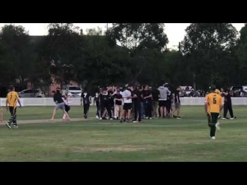 That Final Ball In The 2017 Sydney First Grade One Day Final