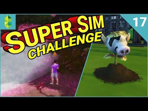 SUPER SIM CHALLENGE | A Cow Plant! (Part 17)