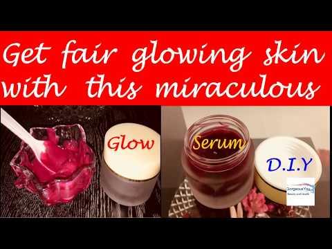 Beetroot glow serum for skin whitening,get fair glowing skin naturally