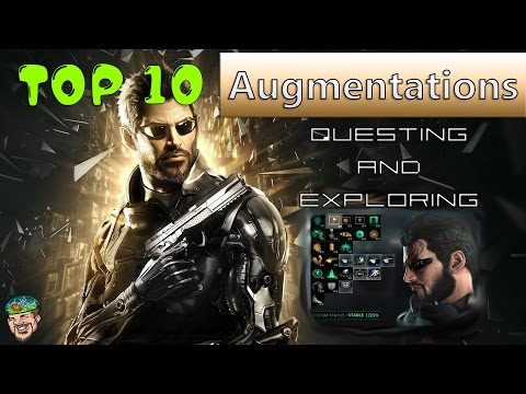 Deus Ex Mankind Divided Top 10 Best Augmentations Guide Tips & Tricks