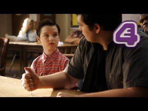 Sheldon Walks Out Of Detention Like A Bada**! | Young Sheldon