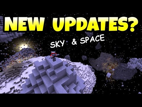 Minecraft New Update Ideas? Sky & Space Updates For Xbox, PS4 & Pocket Edition