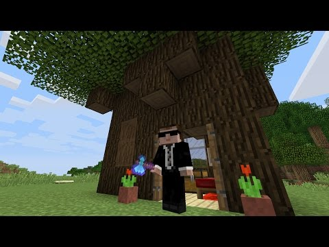 Tree House - A Minecraft House In Minutes