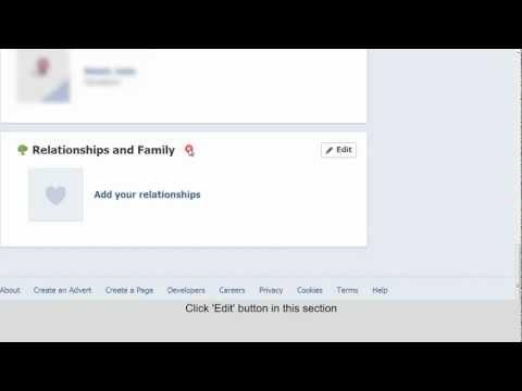 Update Relationship Status on Facebook Timeline