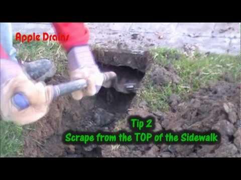 How to Tunnel Sidewalk