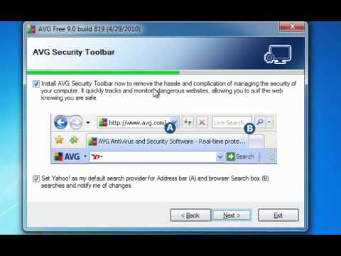 Windows 7 - How to install and run AVG for Windows