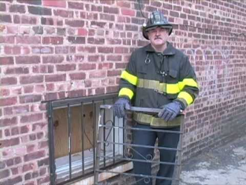 FIREFIGHTER UNIVERSITY - REMOVING  METAL GATES & SECURITY BARS.