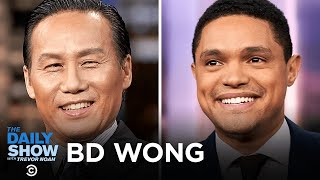 BD Wong - Stretching His Comedy Muscles on Awkwafina is Nora from Queens | The Daily Show
