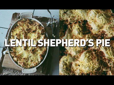 LENTIL SHEPHERD'S PIE // VEGAN + GF + OIL FREE + NUT FREE + RSF