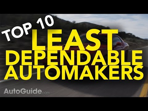 Top 10 Least Dependable Automakers | Car Brands You Might Want to Avoid