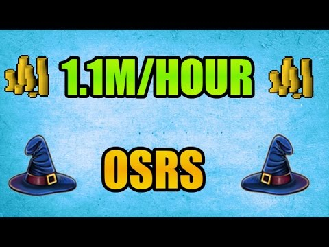 1.1M/Hour OSRS Money Making 3 Different Ways!