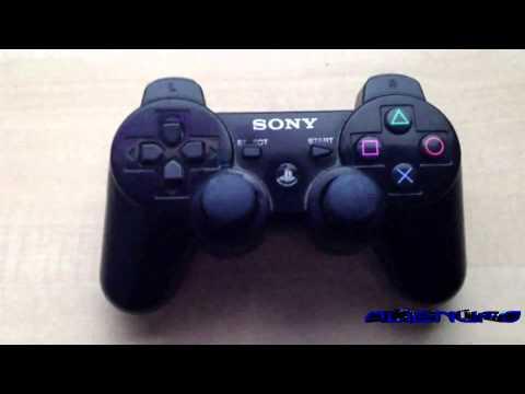 Mod Ps3 Controller - Blue Led Home Button