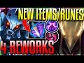 4 MINI-REWORKS & NEW ITEMS/RUNES! ADC Rework/Azir! (ARAM) - New 8.11 Changes - League of Legends