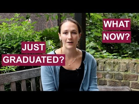 Just Graduated - What Now?? One Minute Tips | The Great Grad Job Hunt