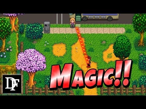 Become A Wizard In Stardew Valley! Magic Mod!