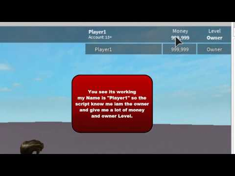 Roblox: How to make a LeaderBoard with Owner Features + Rank in 2 Minutes