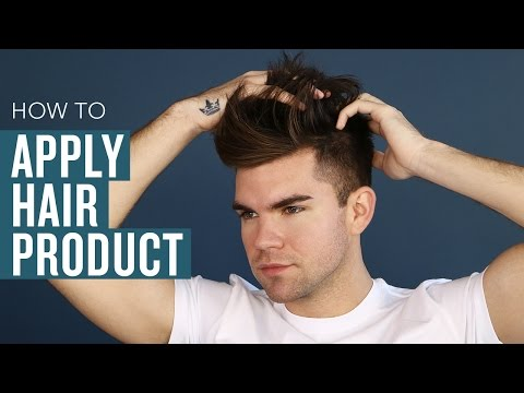 Men's Hair Styling Tips: How to Properly Apply Product
