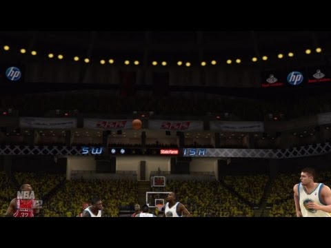 NBA 2K12 My Player Playoffs CFG3 - No Turnovers