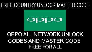 Oppo A83 CPH1729 Network Unlock Done ( Free )