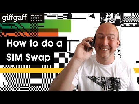 How to do a SIM Swap | Tutorial | giffgaff