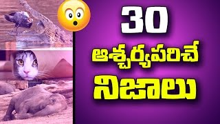 30 Amazing Facts That Will Blow Your Mind | Most Intresting Facts | Unknown Facts Telugu