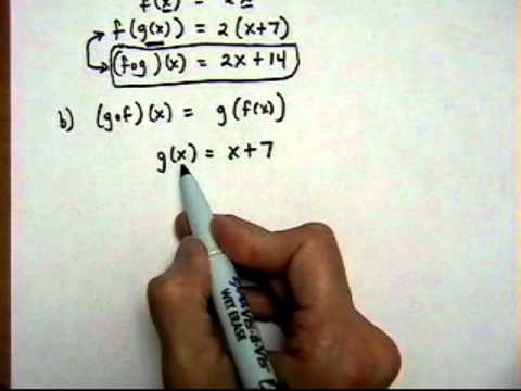 find composite functions #1 - (cr).mov