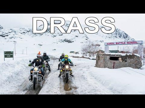 IT'S A RECORD |  DRASS IN WINTERS | WINTER LADAKH RIDE | LEH TO KARGIL | EP - 4 |