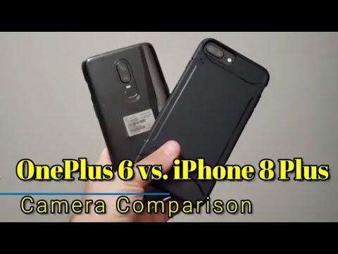 OnePlus 6 vs  iPhone 8 Plus - Camera Comparison