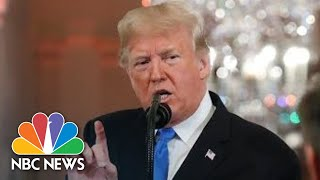 Trump Attacks CNN, NBC Reporters At News Conference: 'You Are A Rude, Terrible Person' | NBC News