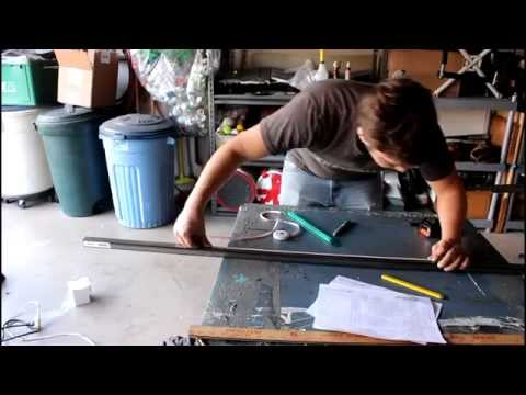 (Homemade) Go Kart Project Video 2: Cutting Metal Tubing for the Frame!!