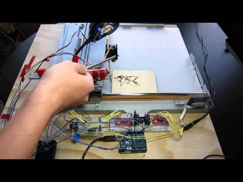 DIY Laser Engraver Cutter