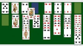 FreeCell demo in TrueOS ( FreeBSD ) 2017