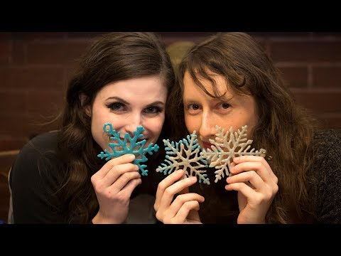 Livestream: Playing with Hot Glue Ornaments | Damsels in DIY
