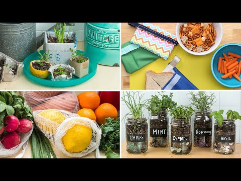 5 DIY Projects That Will Help You Be More Eco-Friendly