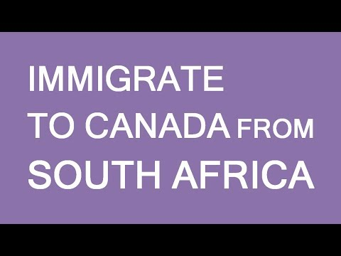 Immigration to Canada from South Africa. LP Group
